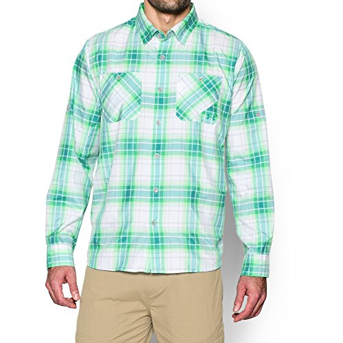 Under Armour Ua Chesapeake Plaid Md Green Energy