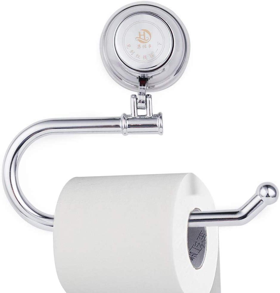 Chrome Porcelain Tissue Paper Shelf Wall Mount Bathroom Toilet Paper Roll Holder