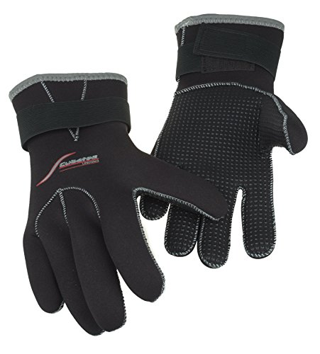 SCUBATEC 3mm Handschuhe, schwarz, L (9)