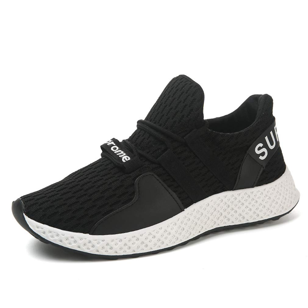 A 40 Men's shoes, Academy Wild Knit Sneakers Spring Fall New Breathable Mesh Sports Running shoes,A,40