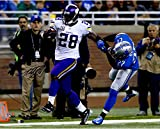 "Adrian Peterson Minnesota Vikings Autographed 16"" x 20"" Stiff Arm Photograph - Fanatics Authentic Certified"
