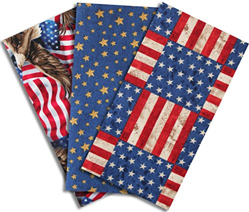 Iron-on Clothing Patches, Large-America The Beautiful ()