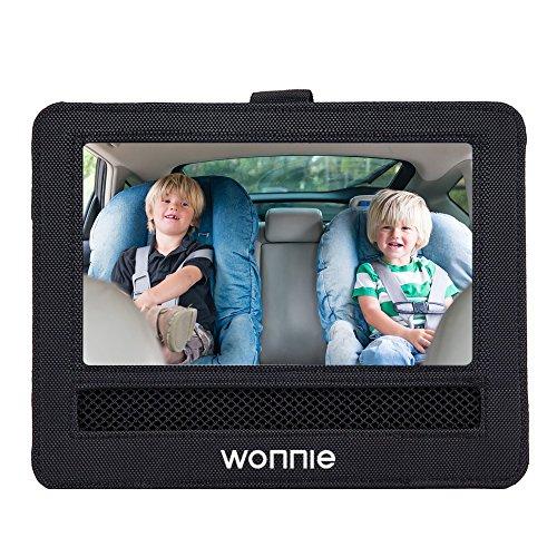 WONNIE Car Headrest Mount Holder for Portable DVD Player for WONNIE Sylvania RCA (9-9.5 Car Headrest)