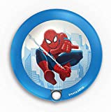 Philips e Marvel Luce Notturna Spiderman, LED, con Sensore di Movimento