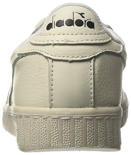 Plateforme Diadora Plate à Adulte C6180 Game L Bianco Bianco Waxed Bianco Mixte Low Pompes Multicolore gwnBYwqx0r