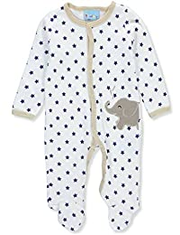 Sweet & Soft Baby Boys' Footed Coverall