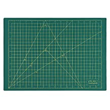 LeaningTech LTC-A3 Self Healing Cutting Mat 3-Ply Single Sided Non Slip Green Great for Scrapbooking, Quilting, Sewing and all Arts & Crafts Projects