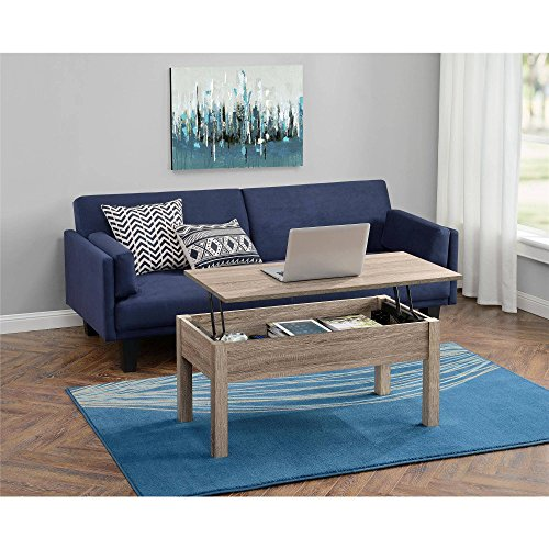 Gracelove Wood Lift Top Coffee Table Computer Book Desk Multiple Colors