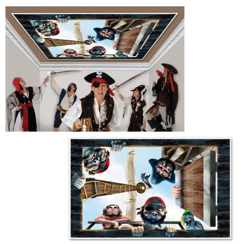 Pirate Insta�View Party Accessory (1 count) (1/Pkg) ()