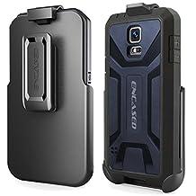 "Encased® Samsung Galaxy S5 ""Hero Series"" Case & Belt Clip (Quick-release Holster Design) (Blue)"