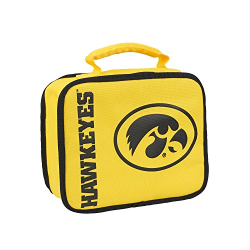 The Northwest Company Officially Licensed NCAA Iowa Hawkeyes Sacked Lunch Cooler (Football Brown Hawkeyes Iowa)