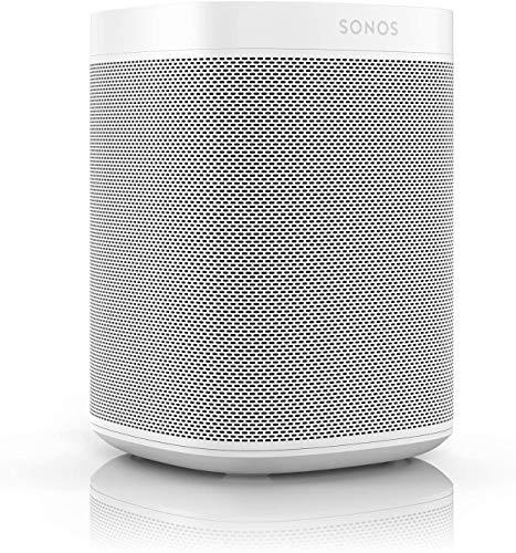 Sonos One (Gen 2) – The powerful Smart Speaker with Alexa built-in, White
