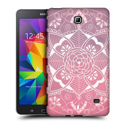 Head Case Designs Floral Olympian Mandala Protective Snap-on Hard Back Case Cover for Samsung Galaxy Tab 4 7.0 T230 T231 T235