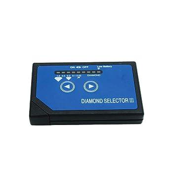 TOPIND Detector de diamantes III LED portátil de alta precisión Diamond Tester Pen joyería herramienta de