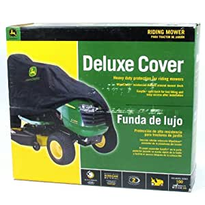 Amazon Com John Deere Lawn Tractor Deluxe Medium Cover