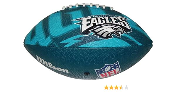 Wilson Football NFL Junior Philadelphia Eagles Logo - Balón de ...