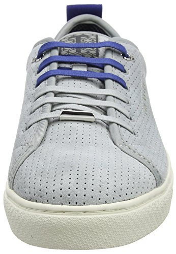 Herren Kaliix Dunkelblau Ted Baker Sneaker Grau Grey 808080 wCqqBa5
