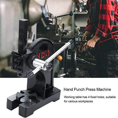 Arbor Press Punch,1 Ton Arbor Press Heavy Duty Manual Desktop Hand Punch Press Machine Metal Arbor Press Tool