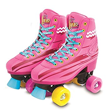 Soy Luna I Am Moon Light Up Skates Roller Training 38 39