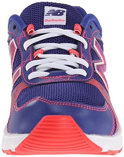 New Balance KJ555 Youth Lace Up Running Shoe (Little Kid/Big Kid) Purple/Pink