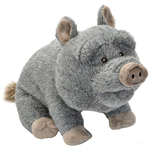Wild Republic Potbelly Pig Plush, Stuffed Animal, Plush Toy, Gifts For Kids, Cuddlekins 12 Inches -