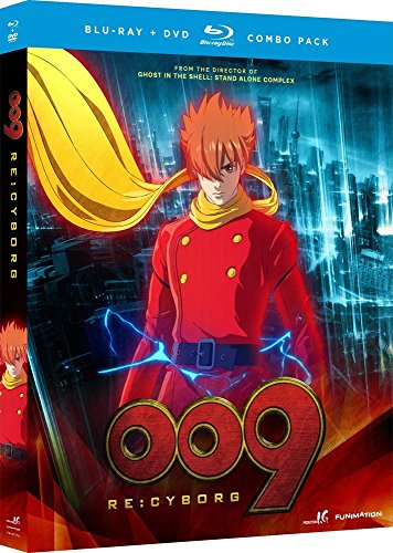 009 Re: Cyborg - Anime Movie (With DVD, 2 Pack, Subtitled, 2PC)