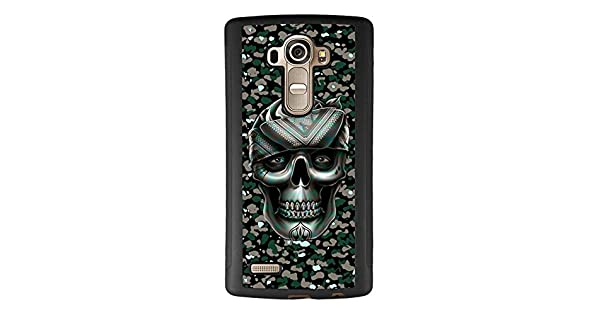 Amazon.com: HD vaca calavera LG G4 funda, Flexible gota ...