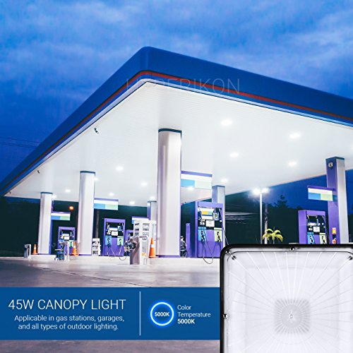 LED Canopy Light Gas Station Garage Outdoor Commercial