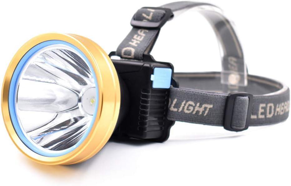 Waterproof Super Bright LED Headlamp Rechargeable Headlight Head Torch Light
