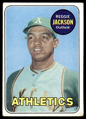 Baseball MLB 1969 Topps #260 Reggie Jackson VG Very Good RC Rookie Athletics