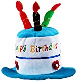Pet Costume Dog Birthday Hats Accessory for Dogs, Blue