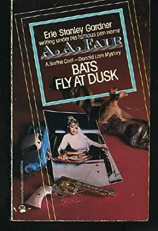 book cover of Bats Fly at Dusk