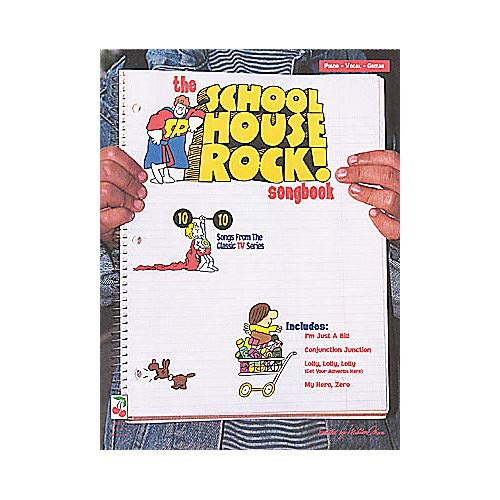 - The School House Rock Childrens Piano, Vocal, Guitar Songbook Pack of 2