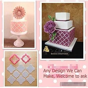 Cake Tool plaque diamond plastic fondant cutter mold fondant embosser stamp press cake decorating tools sugarcraft