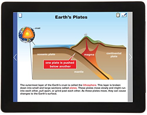 Earth's Surface Changes Multimedia Lesson CD (Grades 3 - 5) - Animated/Narrated Tutorials, Interactive Activities, Virtual Lab and Assessments (Single User - Virtual Change