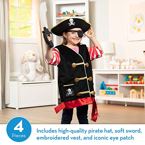 Melissa & Doug 96023 Pirate Role Play Set, Toddler, Multicolor - http://coolthings.us