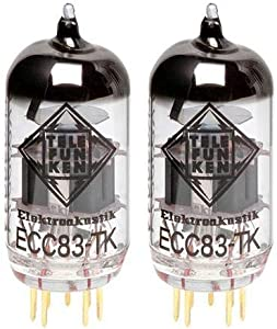 TELEFUNKEN Black Diamond ECC83-TK Vacuum Tube