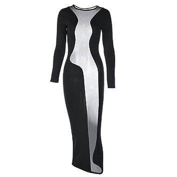 republe Ropa Interior Atractiva de Las Mujeres del Club Nocturno del Partido Empalmado Vestido de Malla