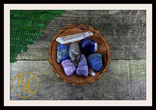 SAGITTARIUS Gemstone Kit 8 Zodiac Sagittarius Gemstones Set Healing Crystals Healing Zodiac Sagittarius Intention Lithiotherapy Sagittarius