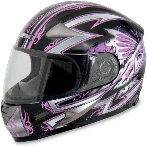 AFX FX-90 Passion Helmet , Size: Md, Primary Color: Pink, Helmet Type: Full-face Helmets, Helmet Category: Street, Distinct Name: Pink Passion, Gender: Womens 0101-5178