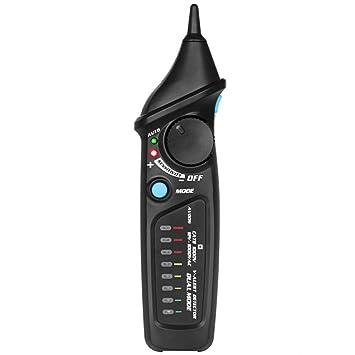 XU-XIAZHI,Detector de Voltaje sin Contacto Prueba de Cable Pluma Verificación Modo Dual con LED(Color:Negro): Amazon.es: Hogar