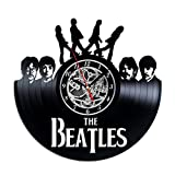 Beatles Vinyl Record Wall Clock. Decor for your home room, nursery, living room. Gift for girls, boys, friends,women, men. Leave a feedback for us