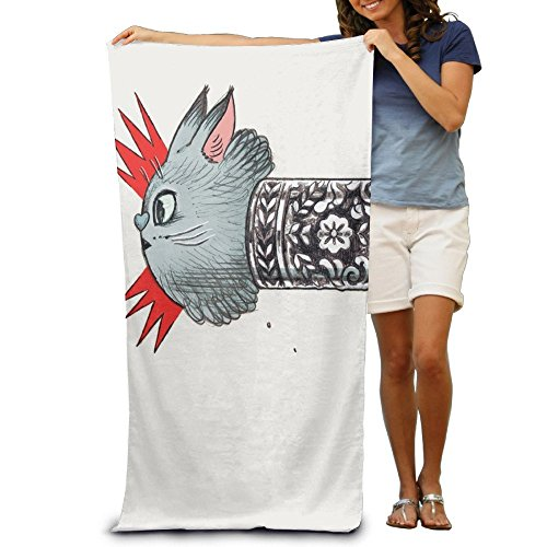 GHEDPO 2018 New Style Large Beach Towel Fly, Unicorn Lint Free by GHEDPO (Image #1)