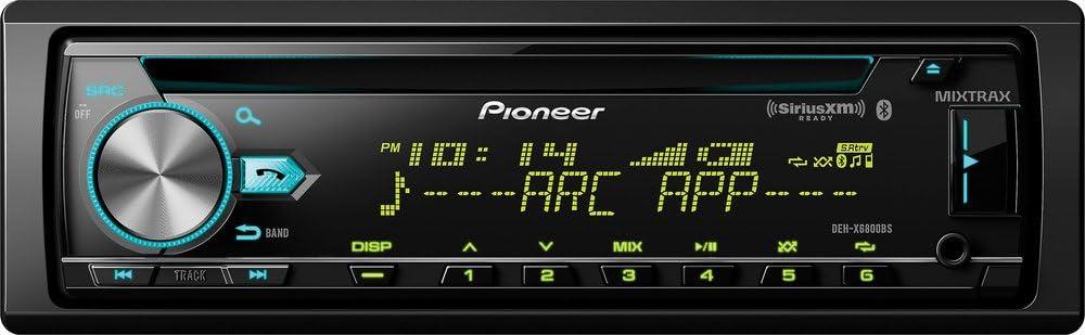 - Pioneer DEH-X6800BS CD Receiver DEH-X6800BS Renewed