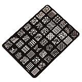 Malloom® Nail Art Decor Nail Stamping Printing Plate Image Stamps