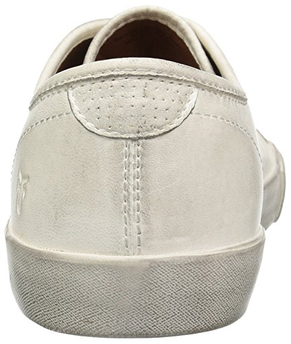 FRYE Men's Brett Low Tennis Shoe White find great sale online supply sale online finishline cheap online pay with visa NVHxHm