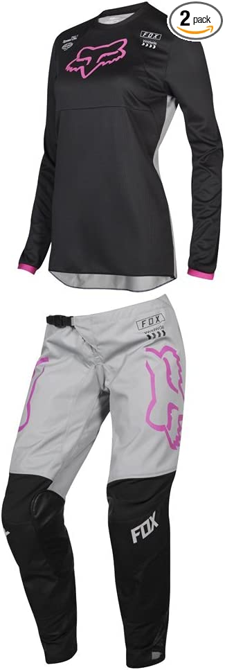 Fox Racing 2019 Womens 180 MATA Jersey and Pants Combo Offroad Riding Gear Black//Pink Medium Jersey//Pants 14W