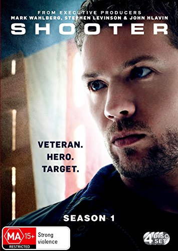Shooter: Season 1 | Ryan Phillippe | NON-USA Format | PAL | Region 4 Import - - Usa Shooter Series