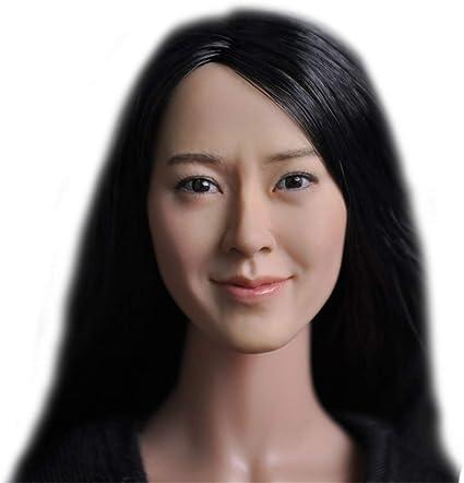 1//6 scale American Female Head sculpt C for 12/'/' Female Figure Doll Phicen