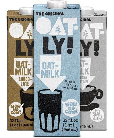 Amazoncom Oatly Oat Milk Variety Pack 2 Of Each Flavor Original